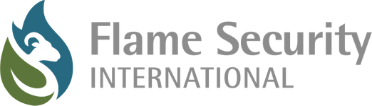 Flame Security International logo