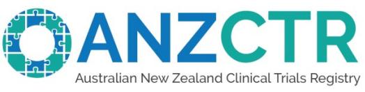Australian New Zealand Clinical Trials Registry - ANZCTR logo