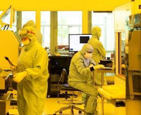 A semiconductor facility
