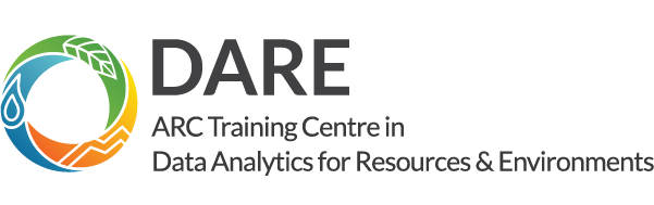 ARC Training Centre in Data Analytics for Resources and Environments - DARE logo