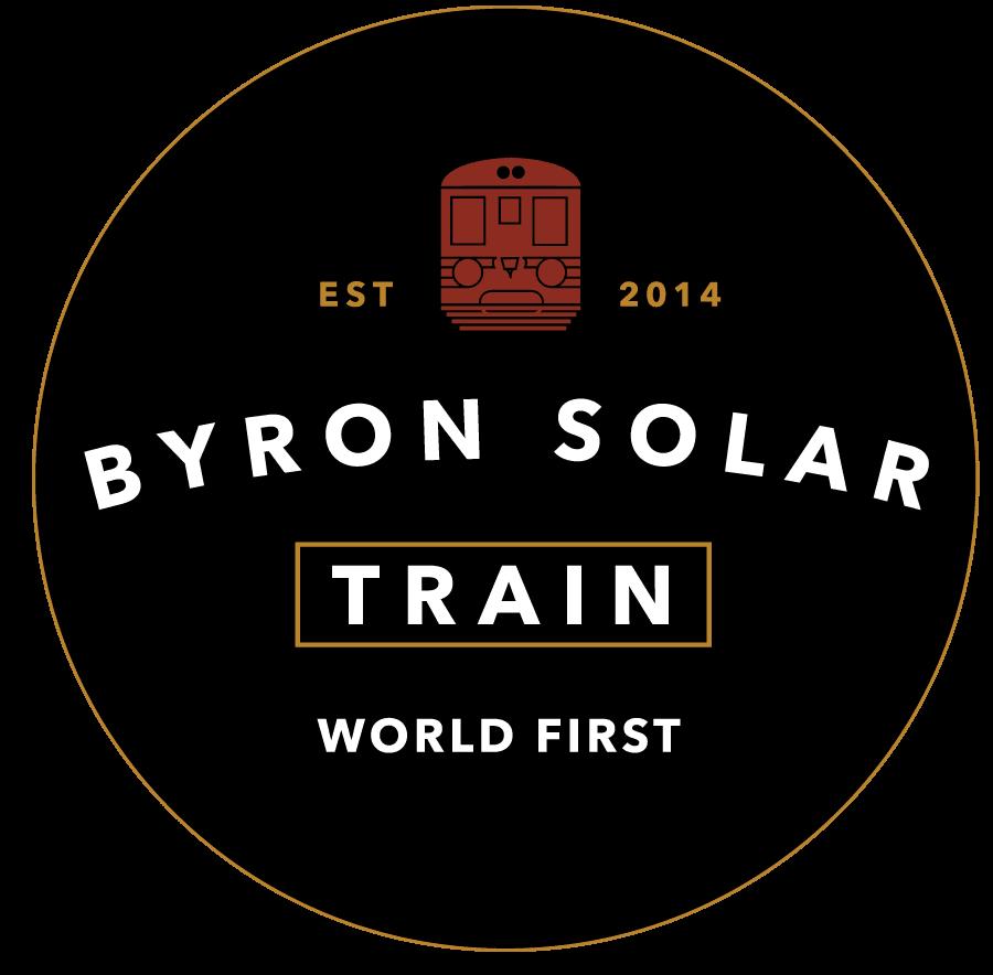 Byron Solar Train logo
