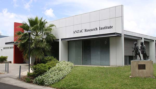 Anzac Research Institute building